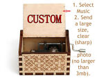 Sentimental Custom Personalized Gifts Mom Daughter Dad Son Wind Up Music Box Toy