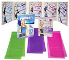 10 DVD Stephanie Huckabee's POWERFit Harmony Fitness System with bands NEW