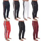Kappa Mens 222 Banda Astoria Snaps Slim Fit Casual Retro Poppers Tracksuit Pants