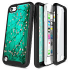 For iPod Touch 5th 6th 7th Gen Case, Full Body Cover + Built-In Screen Protector