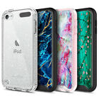 For iPod Touch 5th 6th 7th Gen Case Slim Thin Cover  Built-In Screen Protector