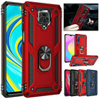 For Xiaomi Redmi Note 10 9S 9 8 7 Pro 9T 9A 9C Shockproof Armor Case Ring Cover