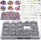Wholesale Body Piercing Jewelry 105pcs Eyebrow Navel Belly Tongue Nose Bar Ring image