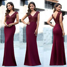Ever-Pretty Double V-Neck Long Evening Prom Dresses Mermaid Holiday Ball Gown US $35.99 USD on eBay