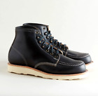 THOROGOOD 1892 JANESVILLE BLACK HORWEEN CXL LEATHER BOOTS 814-6781 [MADE IN USA]