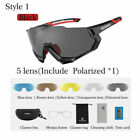 ROCKBROS Polarized Bike Sunglasses Cycling Goggles Sports Glasses US Sunglasses