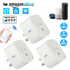 4/2Pcs Wifi Smart Plug Remote Control Outlet Socket Switch for Alexa Google Home