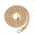 120cm Flat Metal Replacement Chain for Cross Body Shoulder Bag Handbag Strap UK