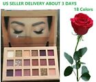 18 Colors Shimmer Matte Pigment Eyeshadow Palette Glitter Eye Shadow Nude Makeup