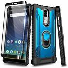 """for COOLPAD LEGACY 6.36"""" Full Body Armor Case Aluminum Magnetic Ring Stand Cover"""