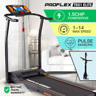 PROFLEX Treadmill Running Machine Foldable Compact Small Home Electric Fitness