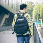 Oxford Fabric Double Rocker Bags Skateboard Backpack Lovers Bags Black Students