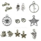 Tibetan Silver Charms Pendants Jewellery Card Making Crafts Antique Colour Lot 3