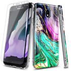 For Samsung Galaxy J7 Crown/J7 Refine/J7 Star Case Ultra Slim Marble Phone Cover