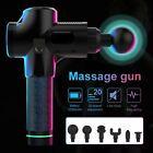 LCD Therapy Massage Gun Percussive Vibration Muscle Massager Sport Recovery Case $60.31 USD on eBay