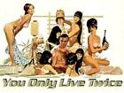 Poster 007 James Bond Sean Connery Si Vive only Twice: 1 $10.49 AUD on eBay