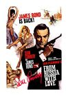 James Bond 007 From Russia with Love 2 A4 reproduction poster choice of frame £19.99 GBP on eBay