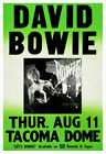 David Bowie 1983 Tacoma Dome concert poster print