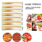 17/18/19/20/22/24mm*14m Natural Casing Sausage Roast Casing Skin Collagen