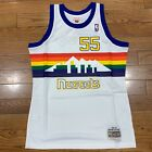 Mitchell and Ness White Denver Nuggets Mutombo swingman jersey on eBay