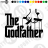 More images of The Godfather Sticker Decal Vinyl Car Bike Scooter Vespa Lambretta 5117-0120