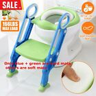 US Kids Potty Training Seat W/ Step Stool Ladder Child Toddler Toilet Chair Home image