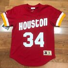 Houston Rockets Hakeem Olajuwon Mitchell & Ness Crewneck Jersey on eBay