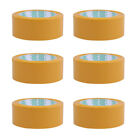 6 Roll Sealing Tape Practical Box Wrapping Tape Box Packing Tape for Office Home