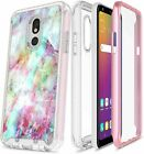 For LG K40/Xpression Plus 2/Solo LTE Case Built-in Screen Protector Phone Cover