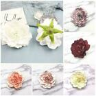 White Peony Artificial Flower Head Silk Rose Diy Wedding Party Decoration A9d5