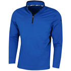 Puma Golf Mens Rotation 1/4 Zip DryCELL Wicking Logo Sweater 44% OFF RRP