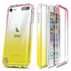 For iPod Touch 5th 6th 7th Gen Case Slim Thin Built-In Screen Protector Cover