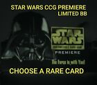Star Wars CCG Premiere Lmtd/BB Rare SP Single Cards - Choose Your Card - SWCCG $2.0 USD on eBay