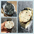Hot Stainless Bear Watch Steel quartz Wristwatch Colored pearl MAMA Bear Watches image