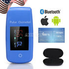 LCD Finger Pulse Oximeter Monitor Meter Blood Pressure Machines Container Box