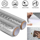 US Waterproof Oil-proof Aluminum Foil Stickers 200CM Adhesive Wallpaper Kitchen