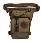 Men Thigh Drop Leg Bag Tactical Military Multi-pocket Hiking Waist Fanny Pack