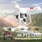 Foldable Quadcopter 2.4G WIFI FPV Drone RC Drones W/ 4K HD Camera One-key Carry back