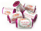 V9_Personalised Mini Love Heart Sweets - Wedding - Floral