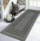 Non Slip Grey Area Rugs Long Hallway Runner Carpet Washable Kitchen Floor Mats