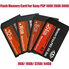 Memory Stick PRO-HG Duo HX MagicGate Card For Sony PSP All Versions Replacement