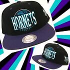 Charlotte Hornets snap back hat by Mitchell & Ness on eBay