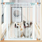 4pcs Pressure Mounted Baby Gates Threaded Spindle Rods Walk Thru Gates Access LP