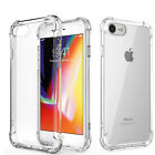 For Apple iPhone SE 2nd 2020 iPhone 7 8 Slim Shockproof Back Clear Case Cover