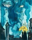 The Sandman By Salvador Dali Painting Artwork Paint By Numbers Kit DIY