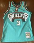 Vancouver Grizzlies #3 Mitchell and Ness NBA Swingman Jersey
