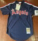 Los Angels Rod Carew Mitchell And Ness Authentic Batting Practice Jersey