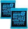 More images of Guitar Strings Electric Ernie Ball 2238 RPS Slinky 8-38 Nickel Wound TWIN SET