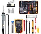 110V 60W Electric Soldering Iron Gun Tool Kit Welding Desoldering Pump Tools Set