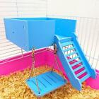 Flexible Wooden Hanging Swing Play Toy for Pet Hamster Mouse Rat Accessories LP